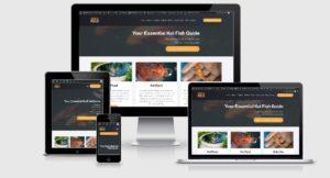 Focus Web Design - Our Work - Totally Koi Website