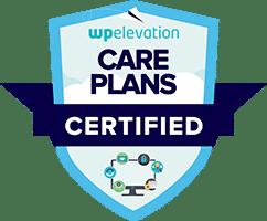 WP Elevation Care Plans Certification