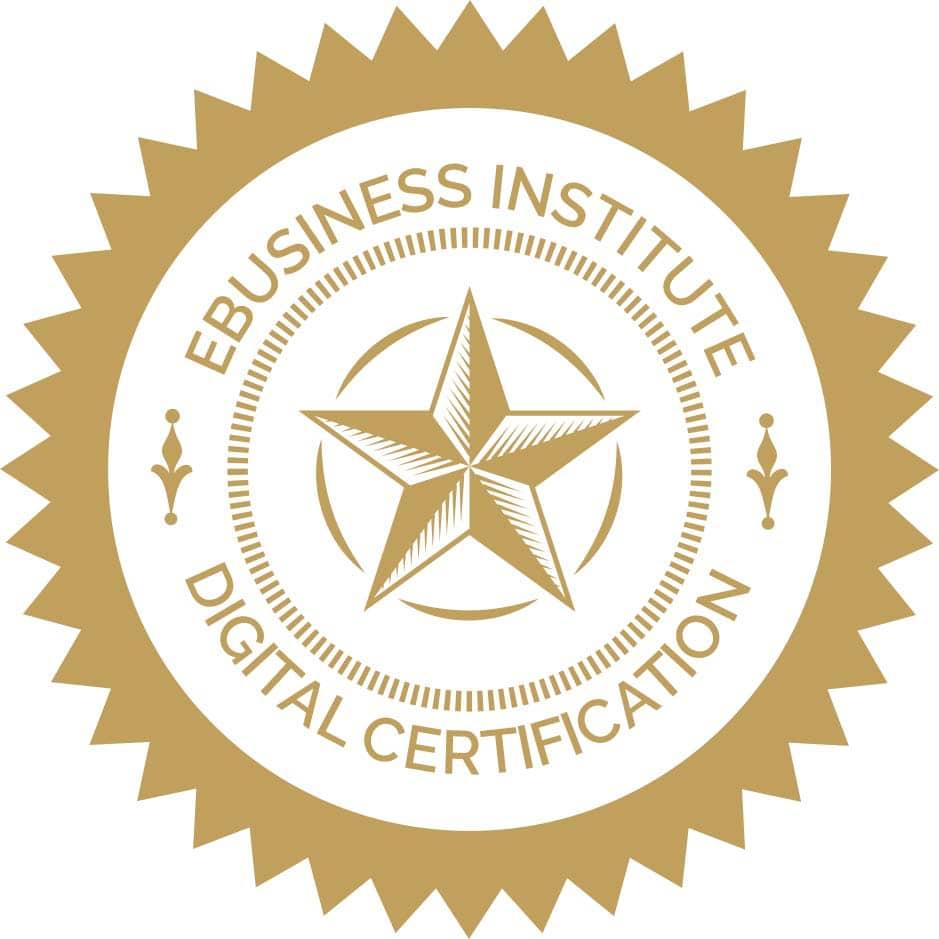 ebusiness institute certificate in digital marketing